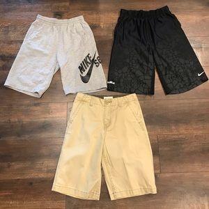 Nike & Arizona Youth Shorts 3 Pair Bundle